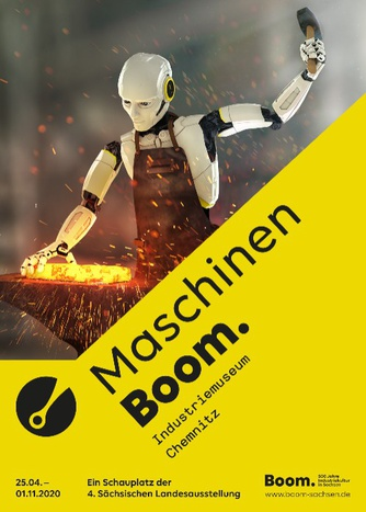 Plakat der Ausstellung © whitebox GbR, Dresden