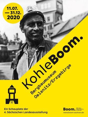 Titelmotiv KohleBoom. © 4. Sächsische Landesausstellung