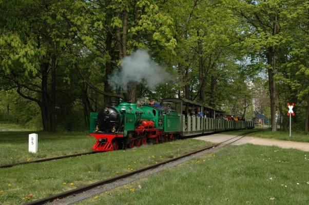 Dresdener Parkeisenbahn Foto: Rene Weidlich © Schlösserland Sachsen