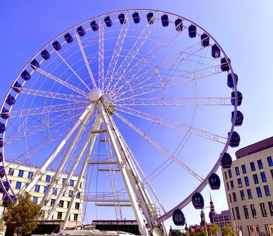 Wheel of Vision in Dresden / Foto: PR