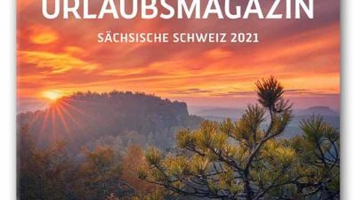 """Titelbild """"Sächsische Schweiz – Ihr Urlaubsmagazin 2021"""""""