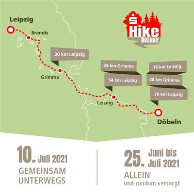 Streckenkarte © Sportfreunde Neuseenland e.V.