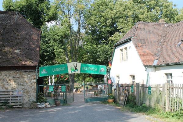 Eingang Hofewiese / Foto: PR