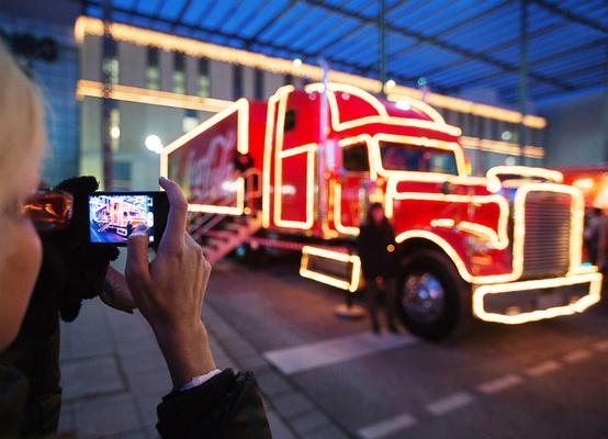 Foto: Coca-Cola Weihnachtstour/fischerappelt