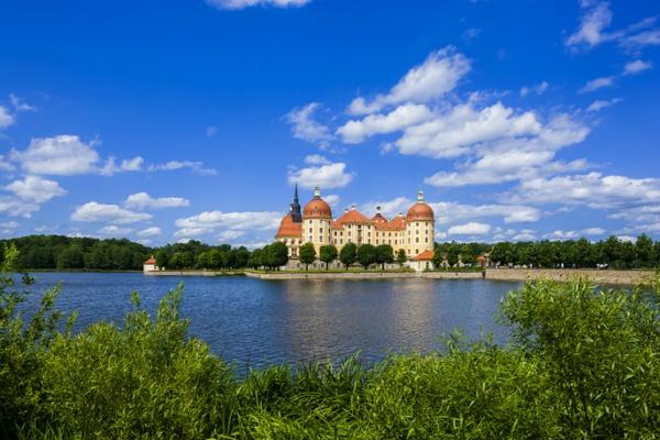 Schloss Moritzburg / Foto: Silvio Dittrich © Schlösserland Sachsen