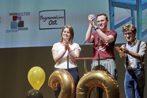 Jugendjury des Internationalen Wettbewerbs 2018 zur Preisverleihung, Foto: Stephan Floss