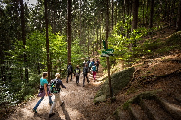 Globetrotter Wandertage in der Sächsischen Schweiz / Foto: Michael Bärisch © Bad Schandauer Kur- und Tourismus GmbH
