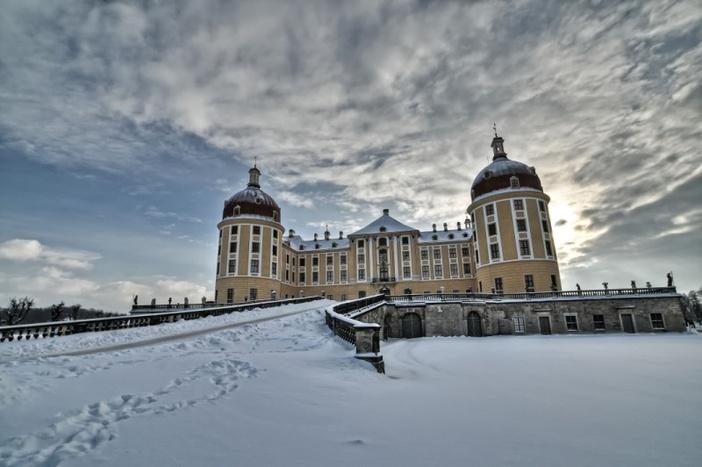 Schloss Moritzburg im Winter © Torsten Hegewald